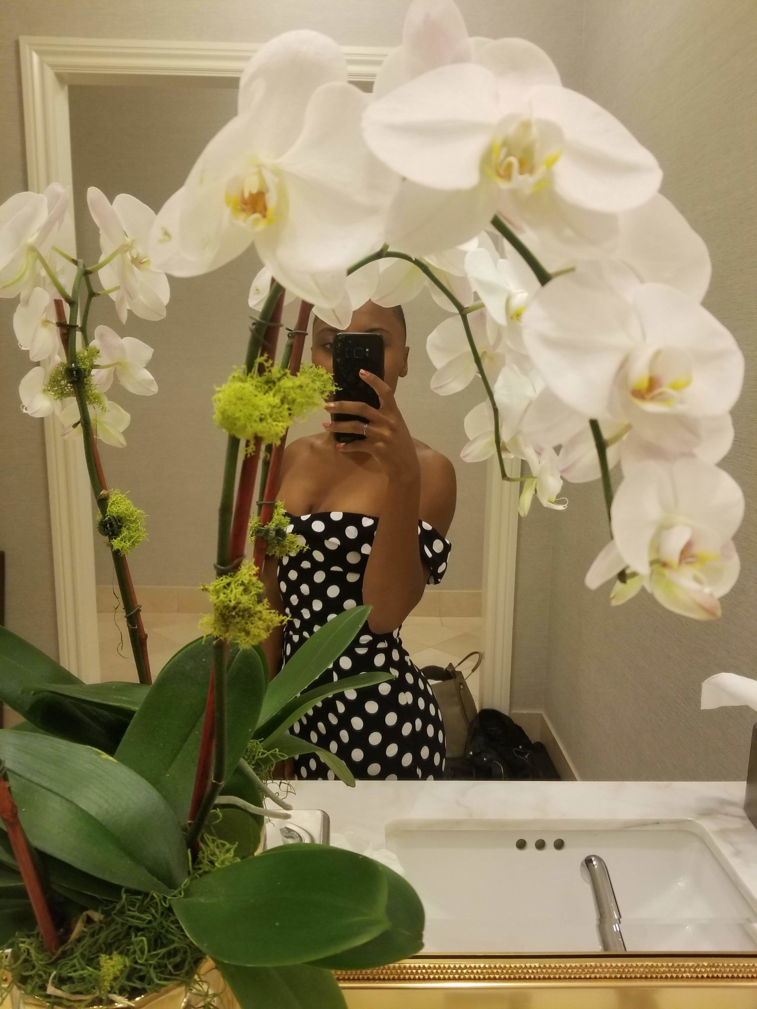 Nia Bolde orchid San Francisco escort