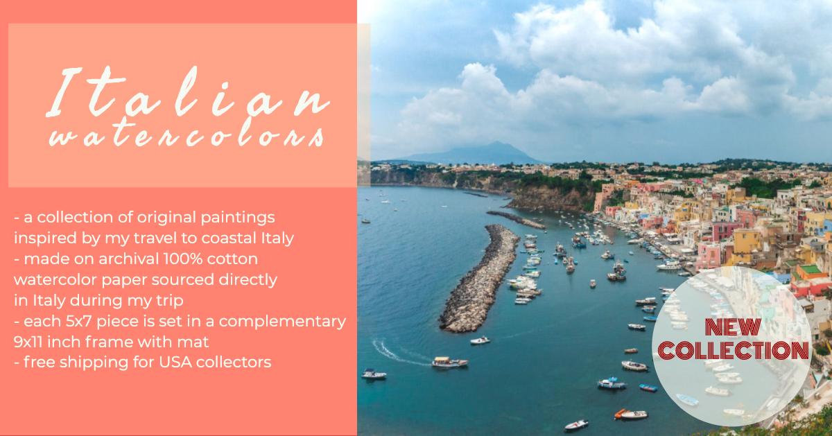 italian watercolors