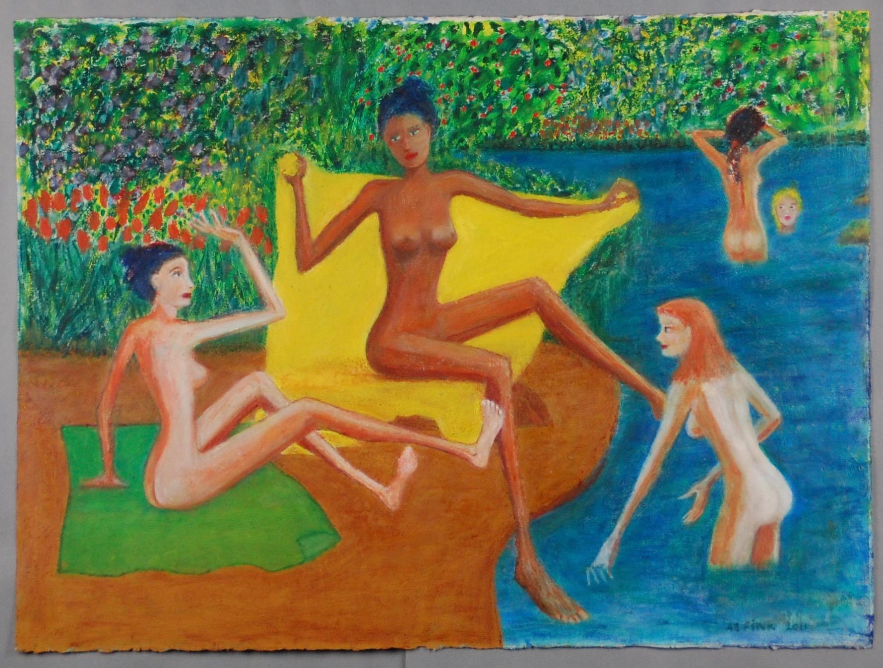Bathers after Renoir