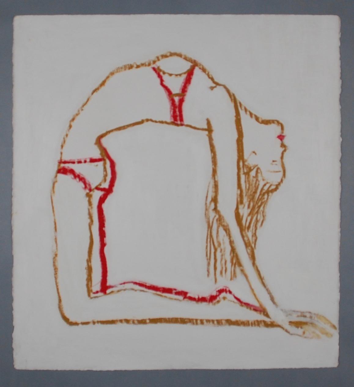Female figure, Yoga, arc
