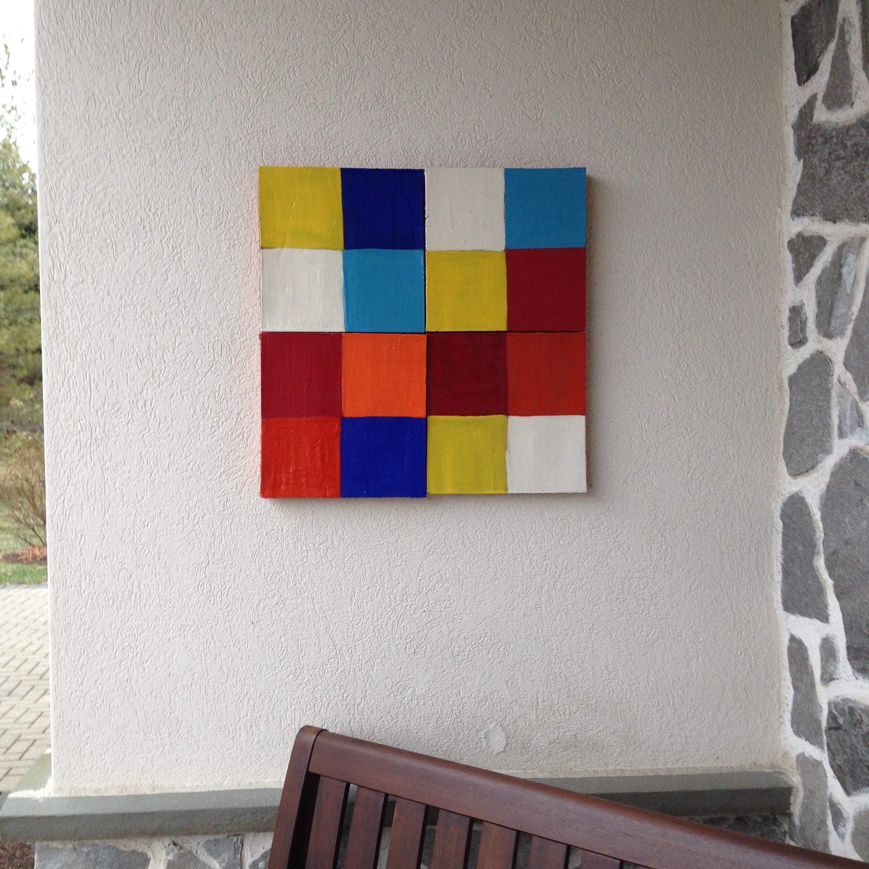 Squares after Klee, 2016