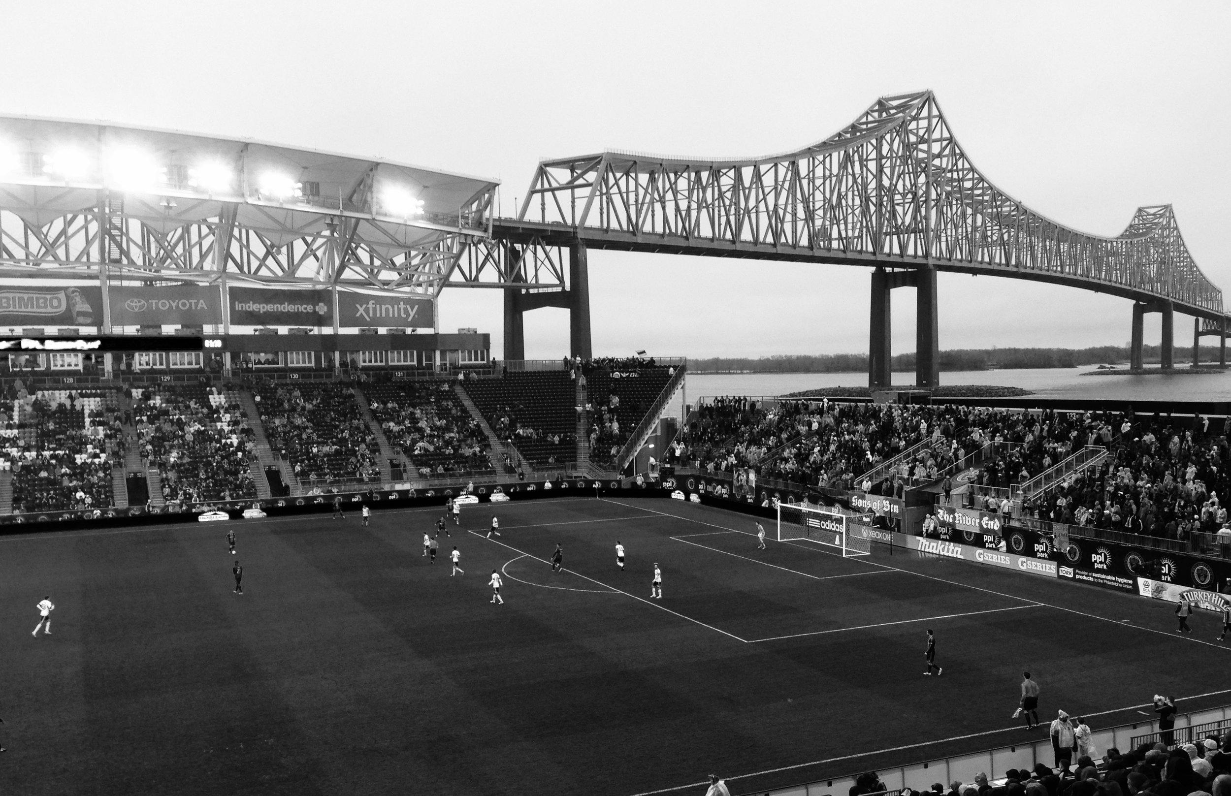 Soccer field in America #2