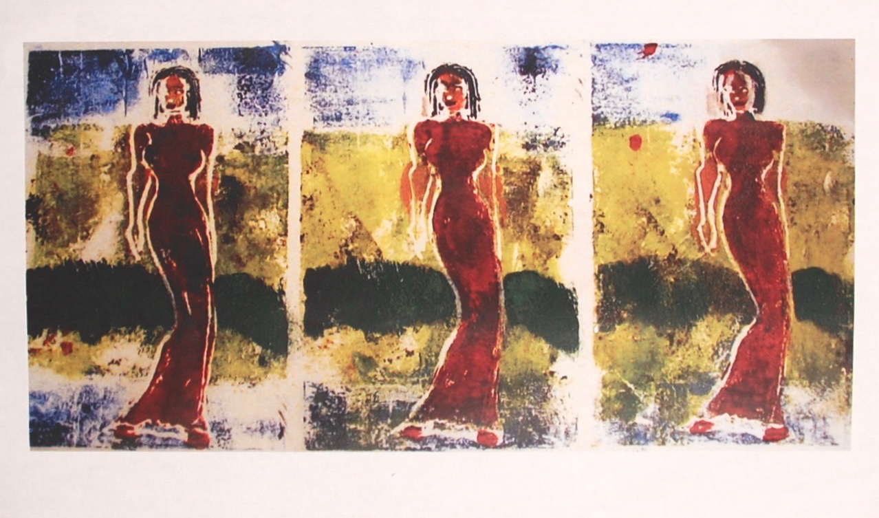 Red dress, 2006
