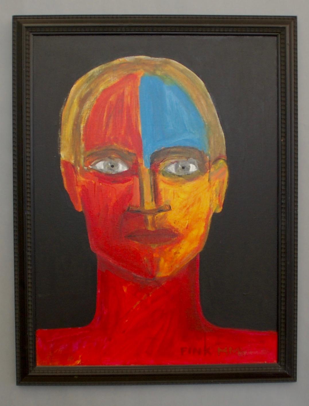 Head of a Fauve man, 2005