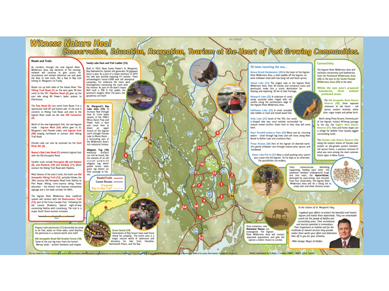 INGRAM RIVER WILDERNESS MAP - 2018