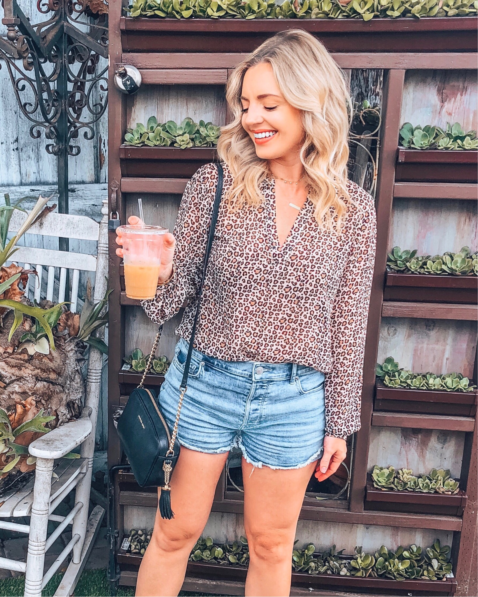 Leopard Print Blouse: - I love leopard print!!! In my opinion, this print will always be in style and be so much fun to wear! Whether it is a blouse, dress, skirt, or pants, find your perfect style and rock it this fall! You can find a similar top (here).