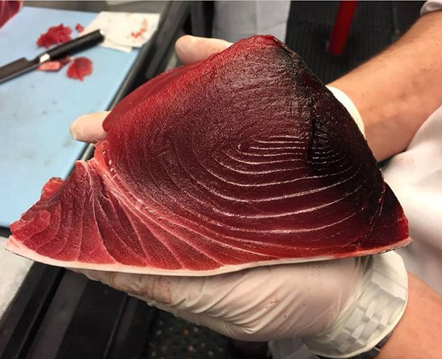 We just received the freshest TUNA 🐟 for our AMAZING CRUDO DISH!!! Join for DINNER.  #restaurantny #newyorkcityrestaurants #bustanny #upperwestside #upperwestsidenyc #dinner #eeeeeats #foodiesofinstagram #food #foodie #tuna #tunacrudo