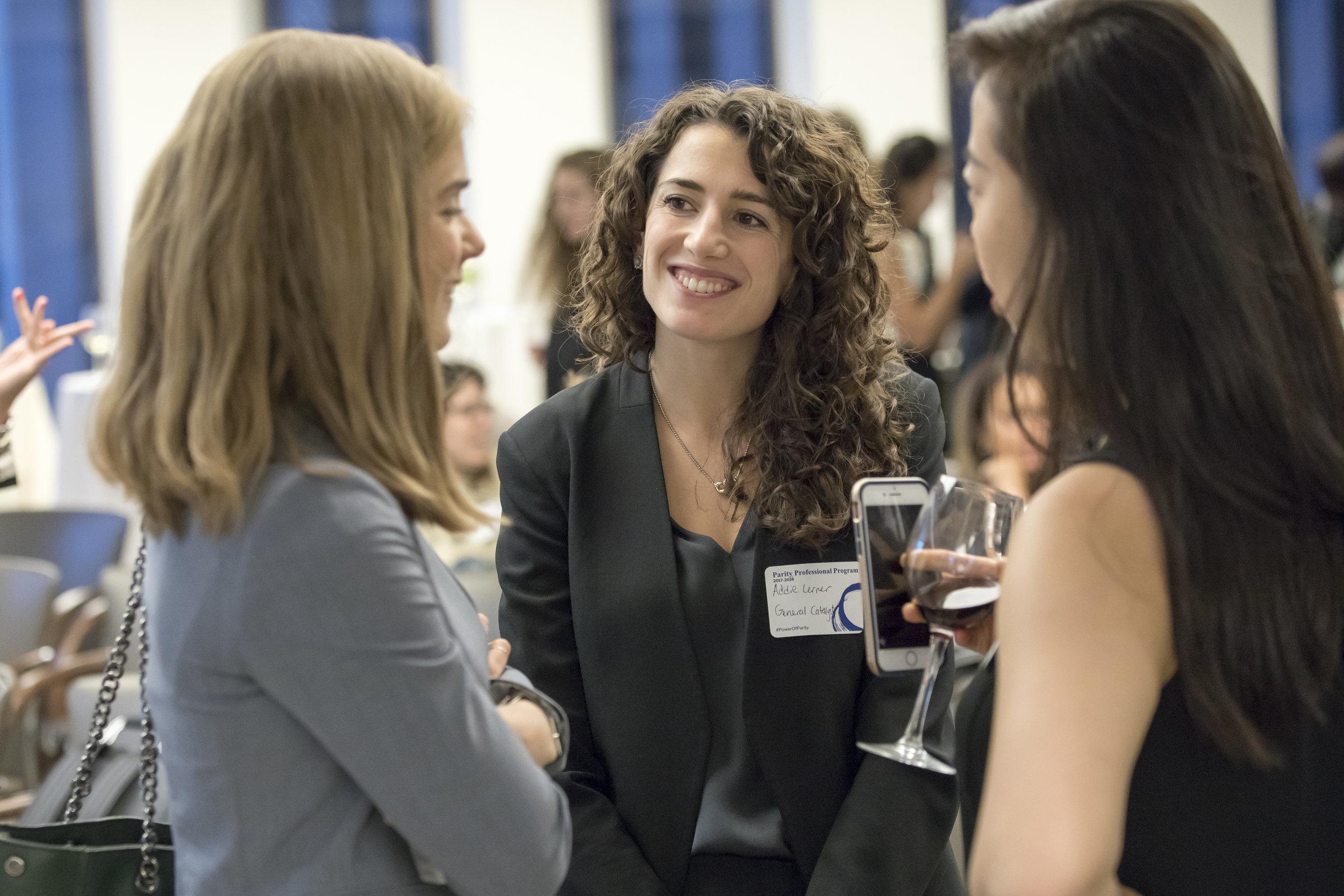 Addie Lerner (center), Principal at General Catalyst