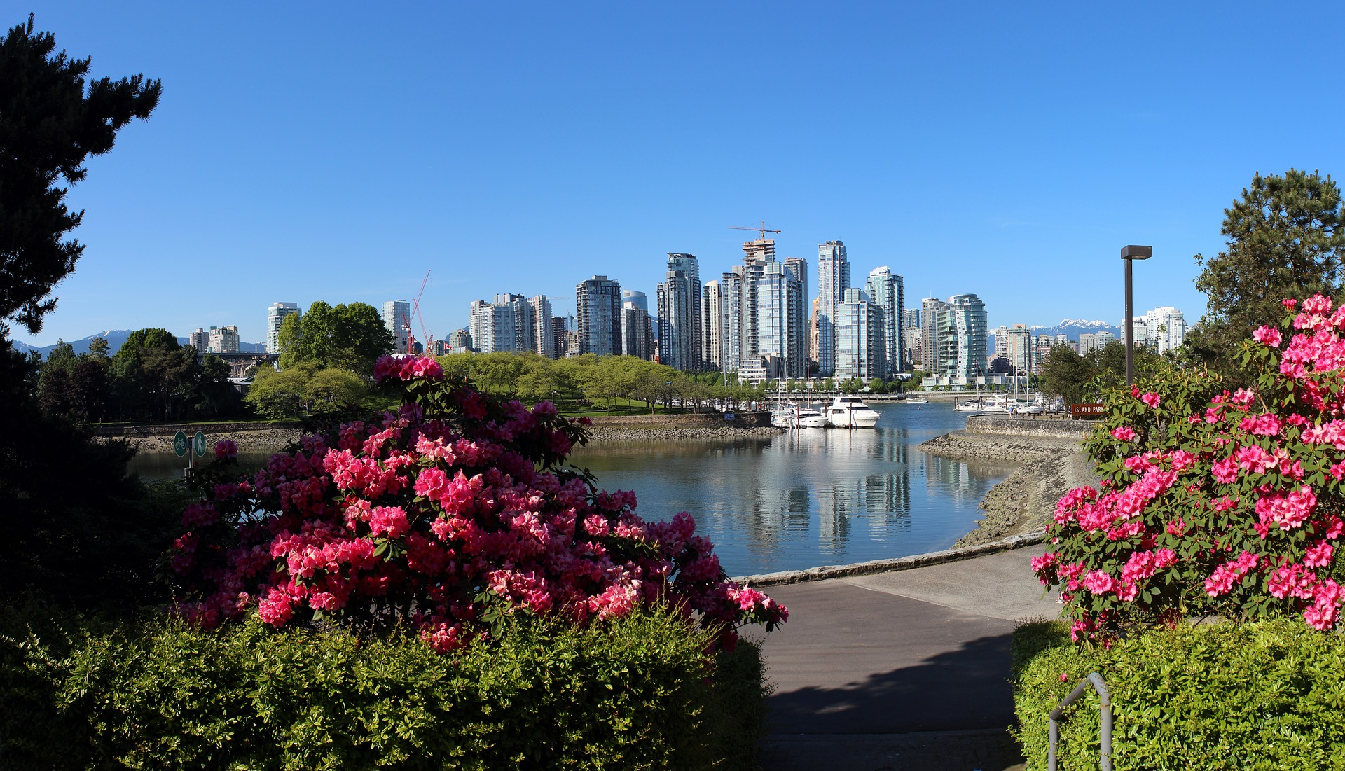 Vancouver's beautiful waterfront