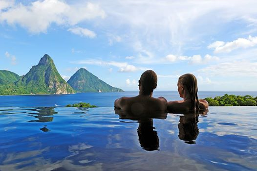 Romantic Caribbean Vacation St. Lucia Jade Mountain