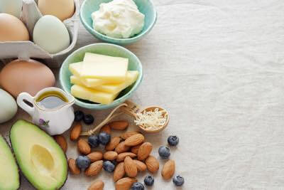 Healthy fats to reduce love handles.