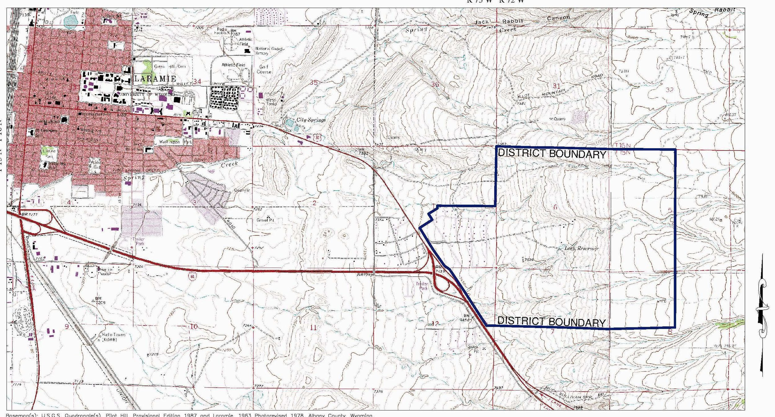 Sherman Hill District Boundary - Click to Enlarge or Download