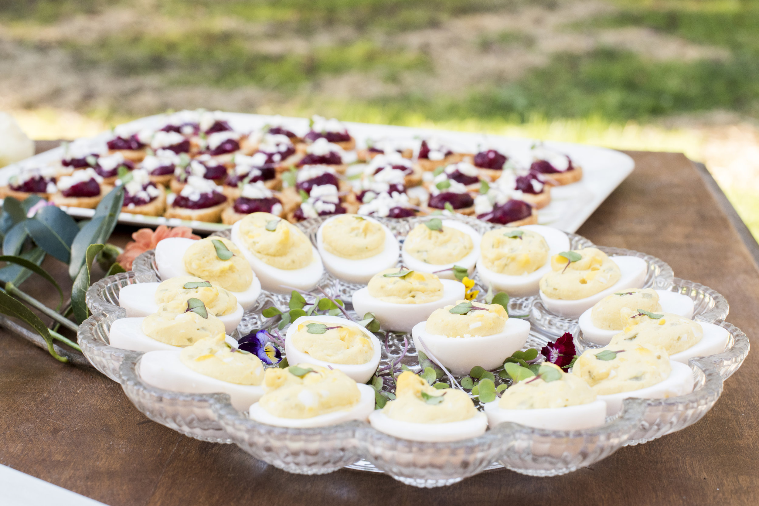 Pickled Deviled Eggs; Photo by: Jessica Merithew Photography
