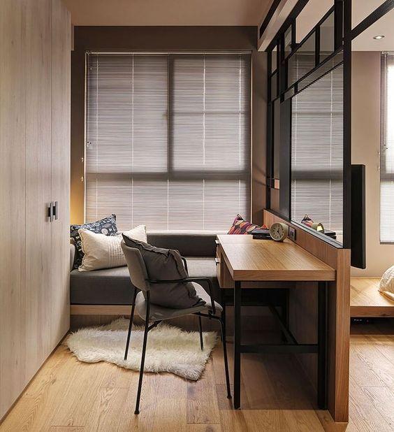 Hea lahendust ruumi pooltamiseks näiteks lastetoas ; Allikas: Pinterest
