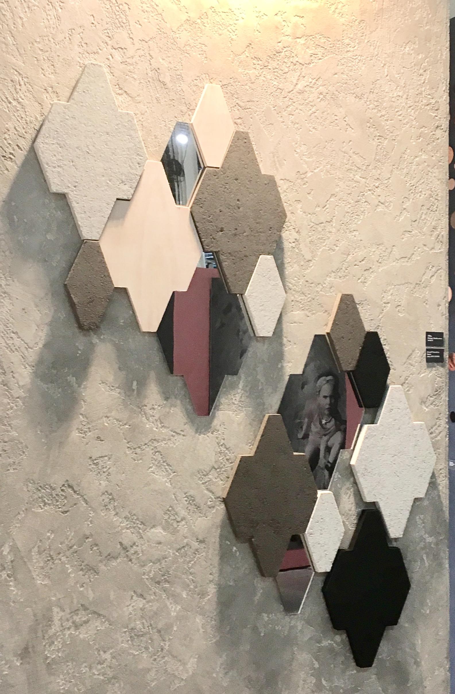 Akustilised plaadid Art4U näidisteboksis. Erineva värvitooni- ja materjaliviimistlusega