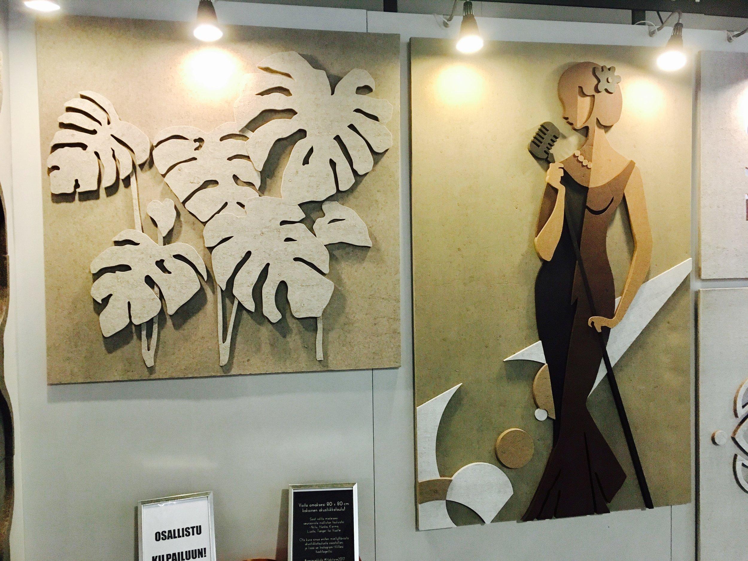 Sani Miekkala disainitud akustilised seinaplaadid