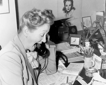 Hedda Hopper and Louella Parsons had desks at the Westmores Salon and would report on all of the day's glamour and gossip, for the Westmores, it was non-stop publicity.
