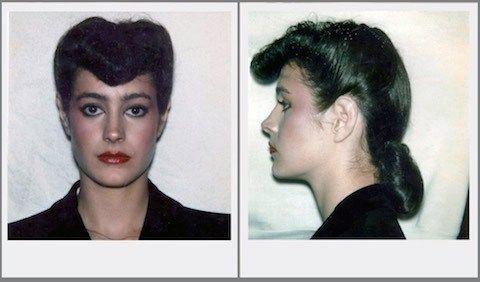 """Polaroids of Sean Young as """"Rachael"""""""