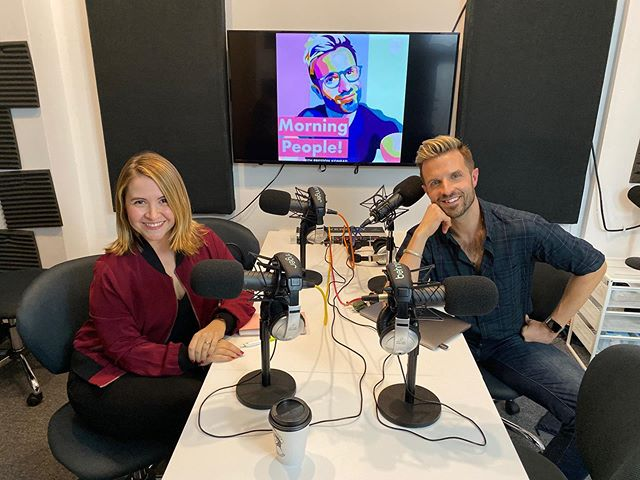 "I'm on a podcast! Had the honor to appear as a guest on @prestonkonrad podcast 'Morning People' - talking all about having how I used to have a side gig while working 9-5, influencer marketing and my role at @blndollarboy, how to become an ""influencer"" and my latest project... being a mom!!! Preston, was a pleasure to be on this!! Link in bio 🎙⚡️🎙 (and a big thanks to @tacospastor @deuxmoi and @permele for making most of what I'm talking about on this episode possible)"