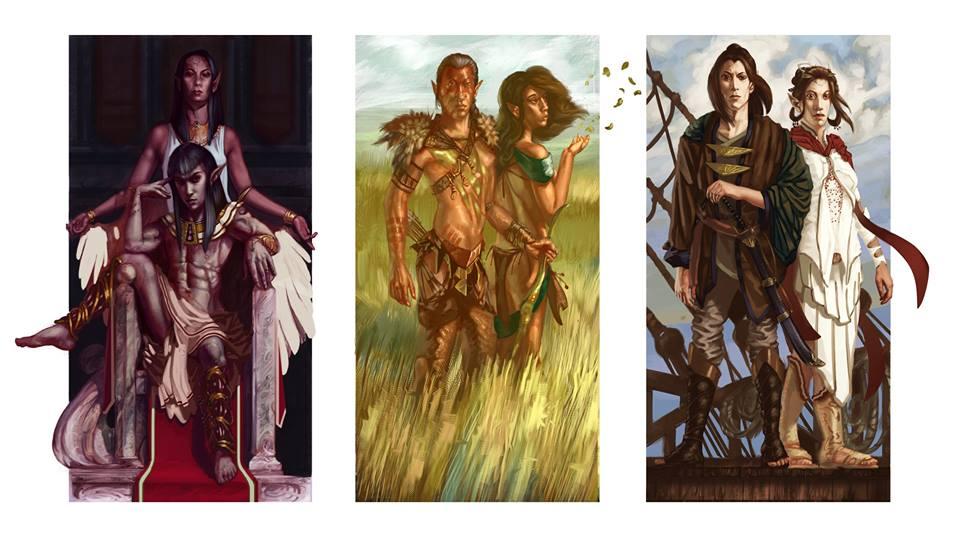 Dark, Wild, and Gold Elves