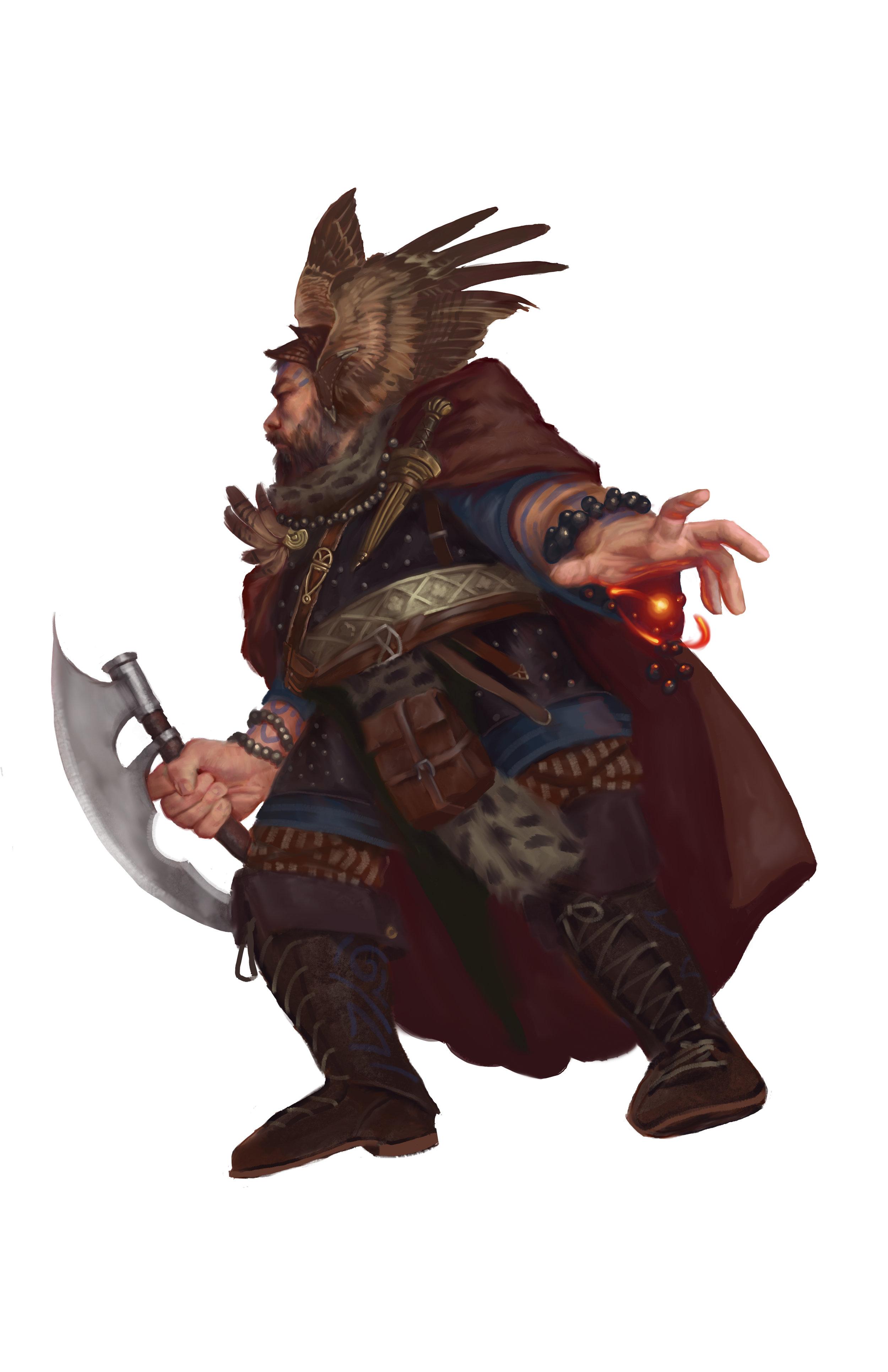 Dwarven Wizard