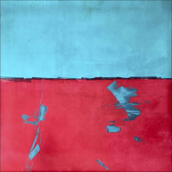 """Current  : oil pigment stick, cold wax : 40""""h x 40""""w : $2500 : by Lynda Cole"""