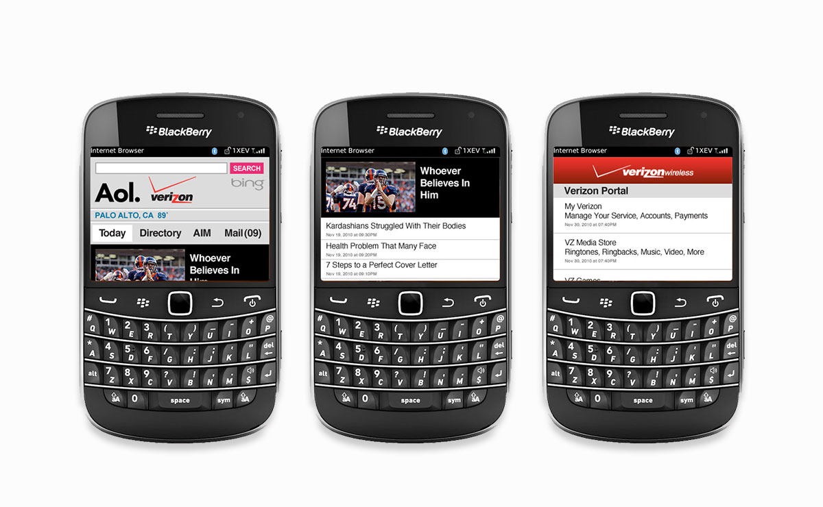Blackberry Device Support