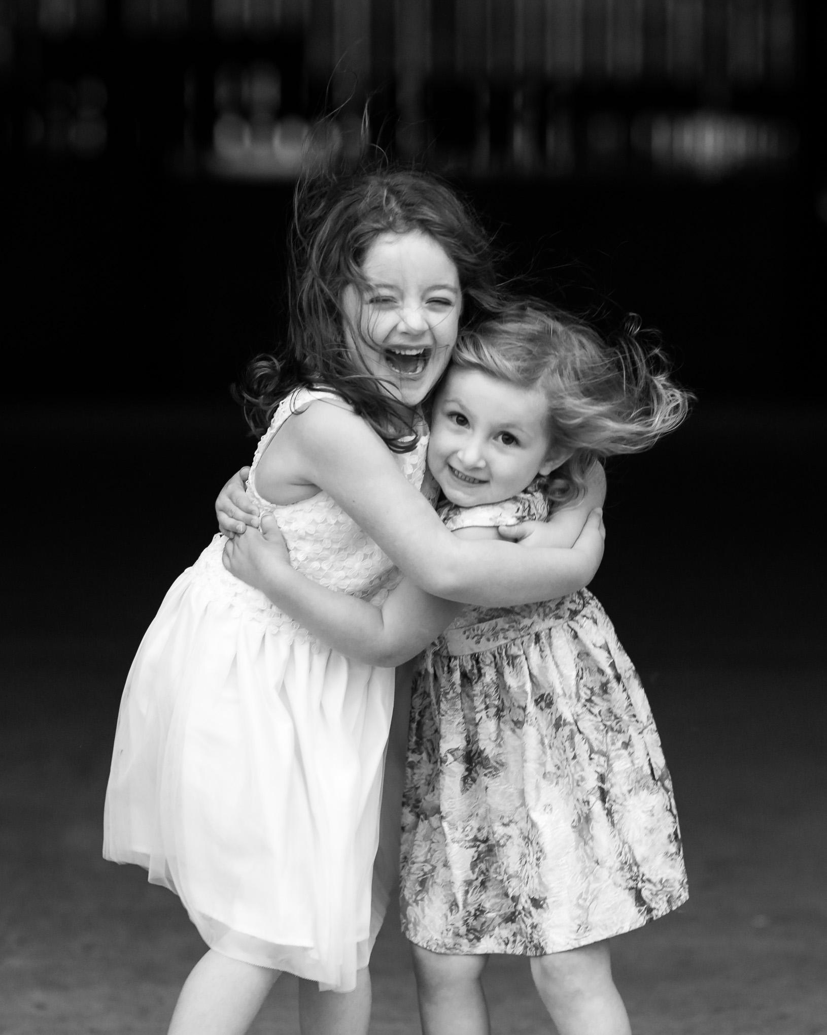 Big sister hugs | Children's Photography