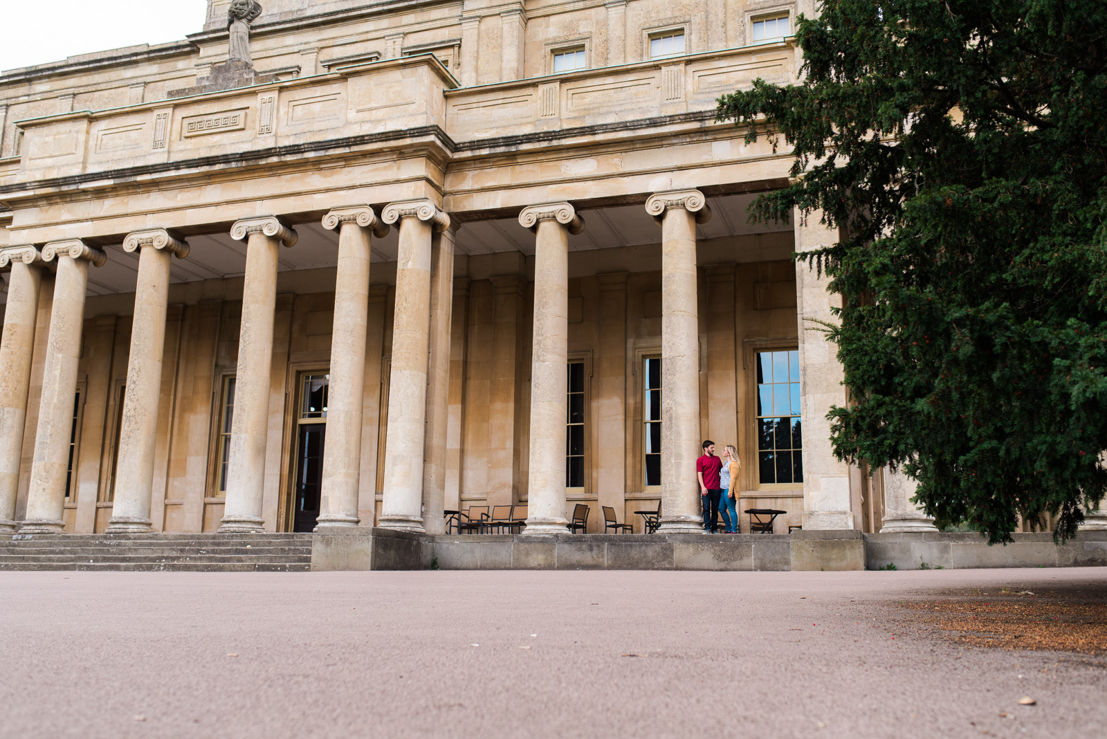 Engagement shoot at Pittville Pump Rooms - Cotswolds Wedding Photographer