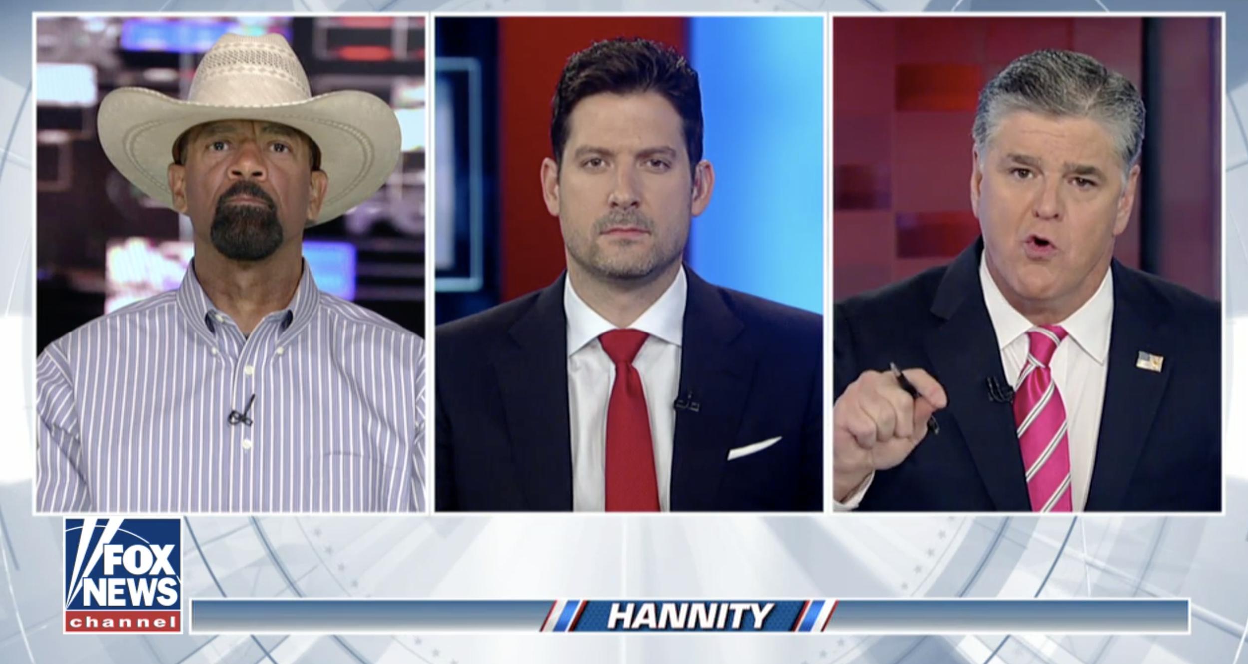 Brett Velicovich and Sean Hannity