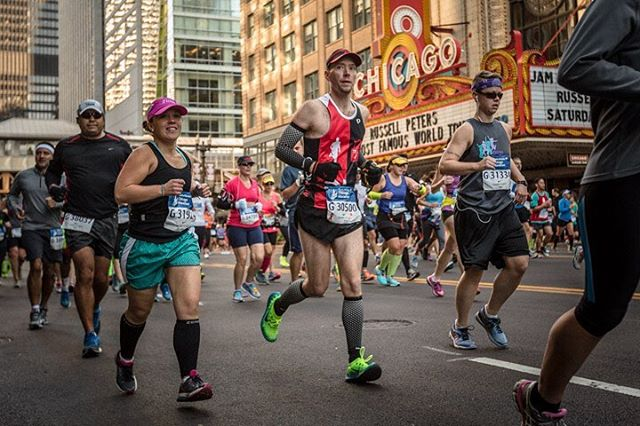 Carey Pinkowski, Director of the Chicago Marathon stopped by ESPN's The Sporting Life with Jeremy Schaap to talk about the appeal of marathon running, the recognition the Chicago Marathon has gained over its 41 years, and his 29 years of directing the @chimarathon. You can listen to Carey on The Sporting Life podcast via the link in the bio, or tune in to @espn radio this Saturday and Sunday at 5:45am CT!
