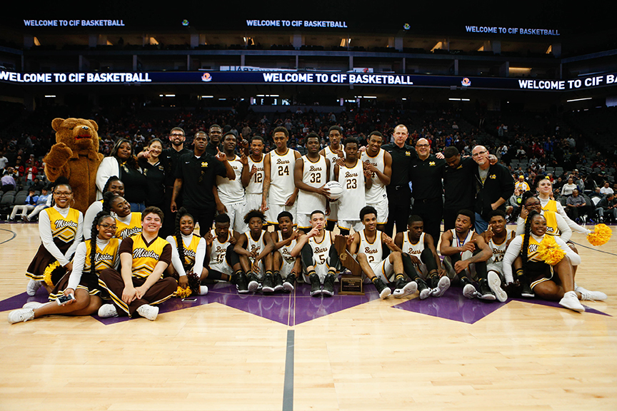 MISSION BEARS WIN THE BOYS BASKETBALL 2017 STATE CHAMPIONSHIP