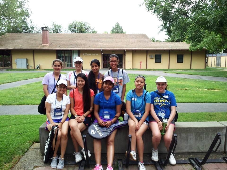 Tennis Camp at UC Davis!