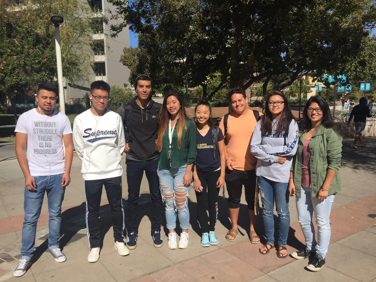 ASAP Alum currently attending UC Davis!