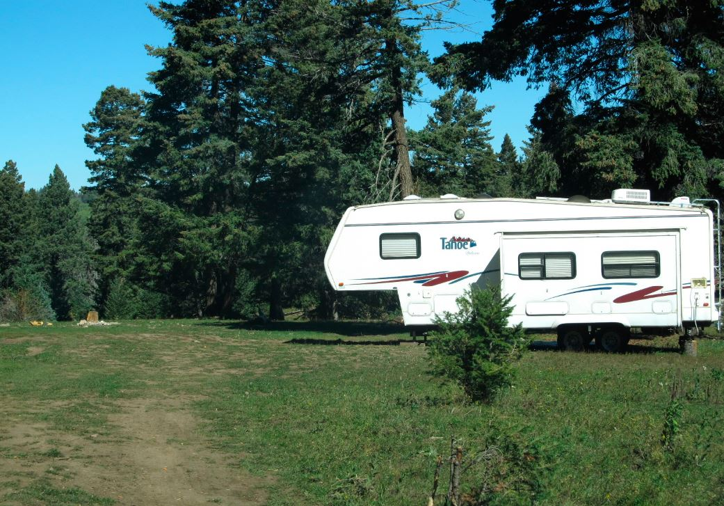 PHOTO: Lincoln National Forest - Dispersed Camping
