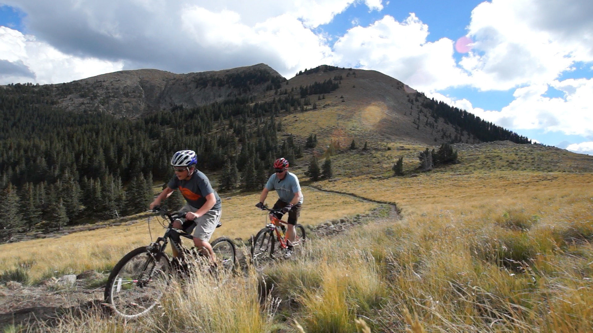 Biking Sierra Blanca