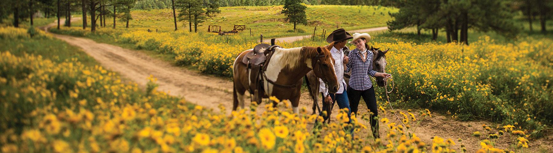 Horseback riding, Inn of the Mountain Gods Resort