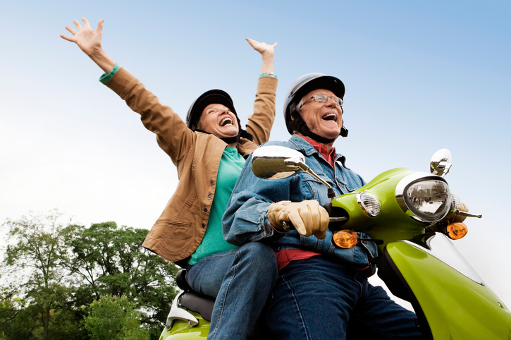 Rent a motor scooter for your Ruidoso vacation.