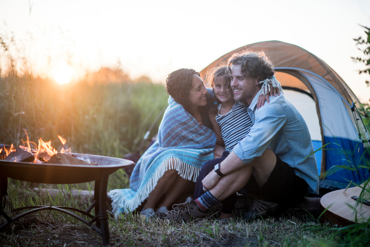 PHOTO: Camping with kids