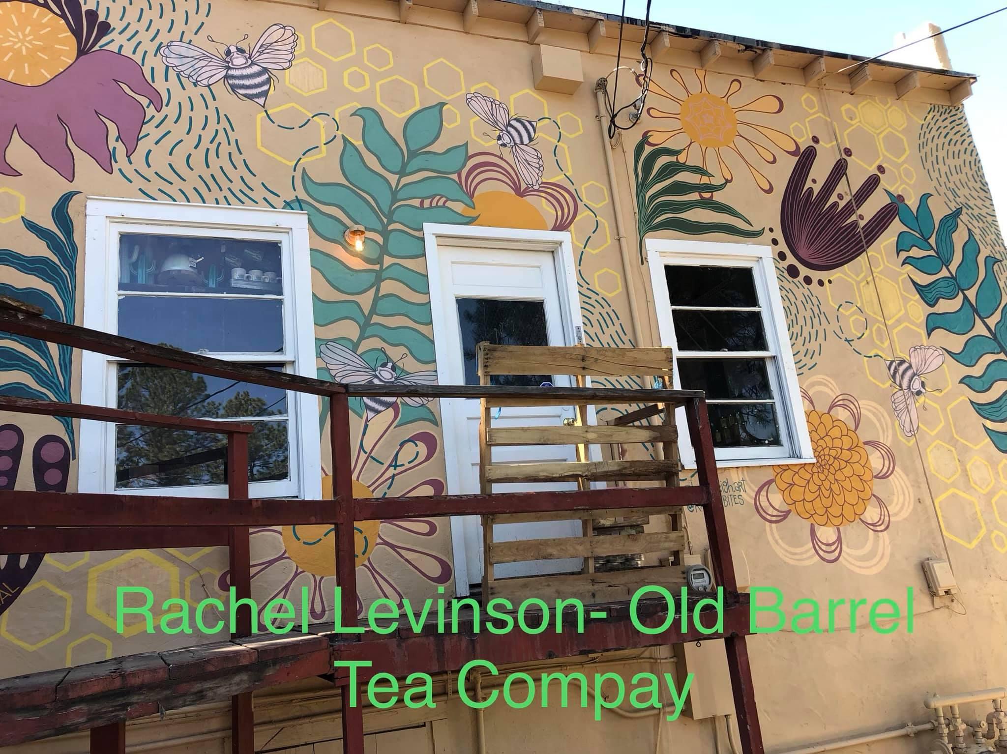 Photo: Mural at Old Barrel Tea & Spice