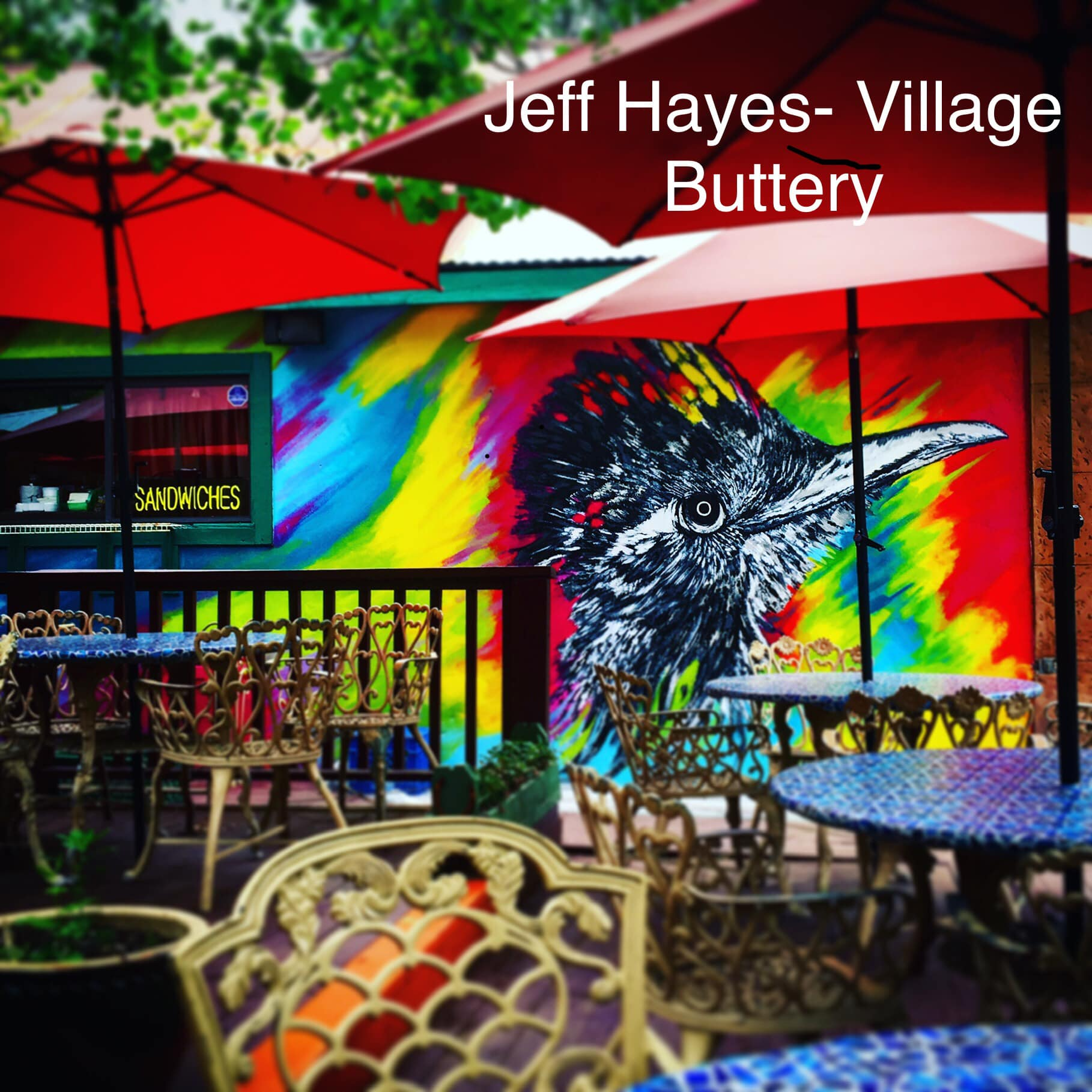 Photo: Mural at The Village Buttery