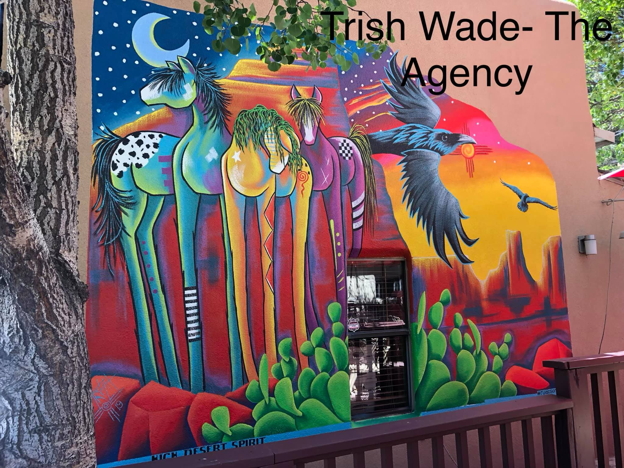 Photo: Mural at The Agency