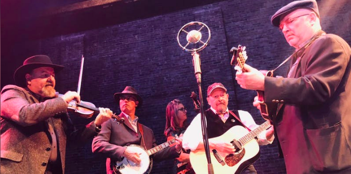 Listen to the Higher Ground Bluegrass Band live in Ruidoso at Sacred Grounds on Saturday, September 14, 2019.