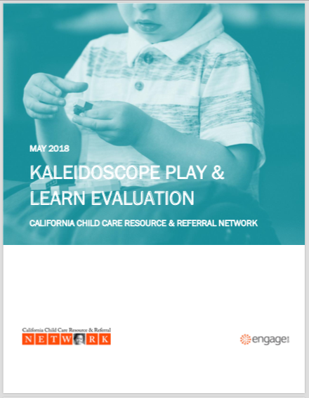 CALIFORNIA CHILD CARE RESOURCE AND REFERRAL NETWORK: Kaleidoscope