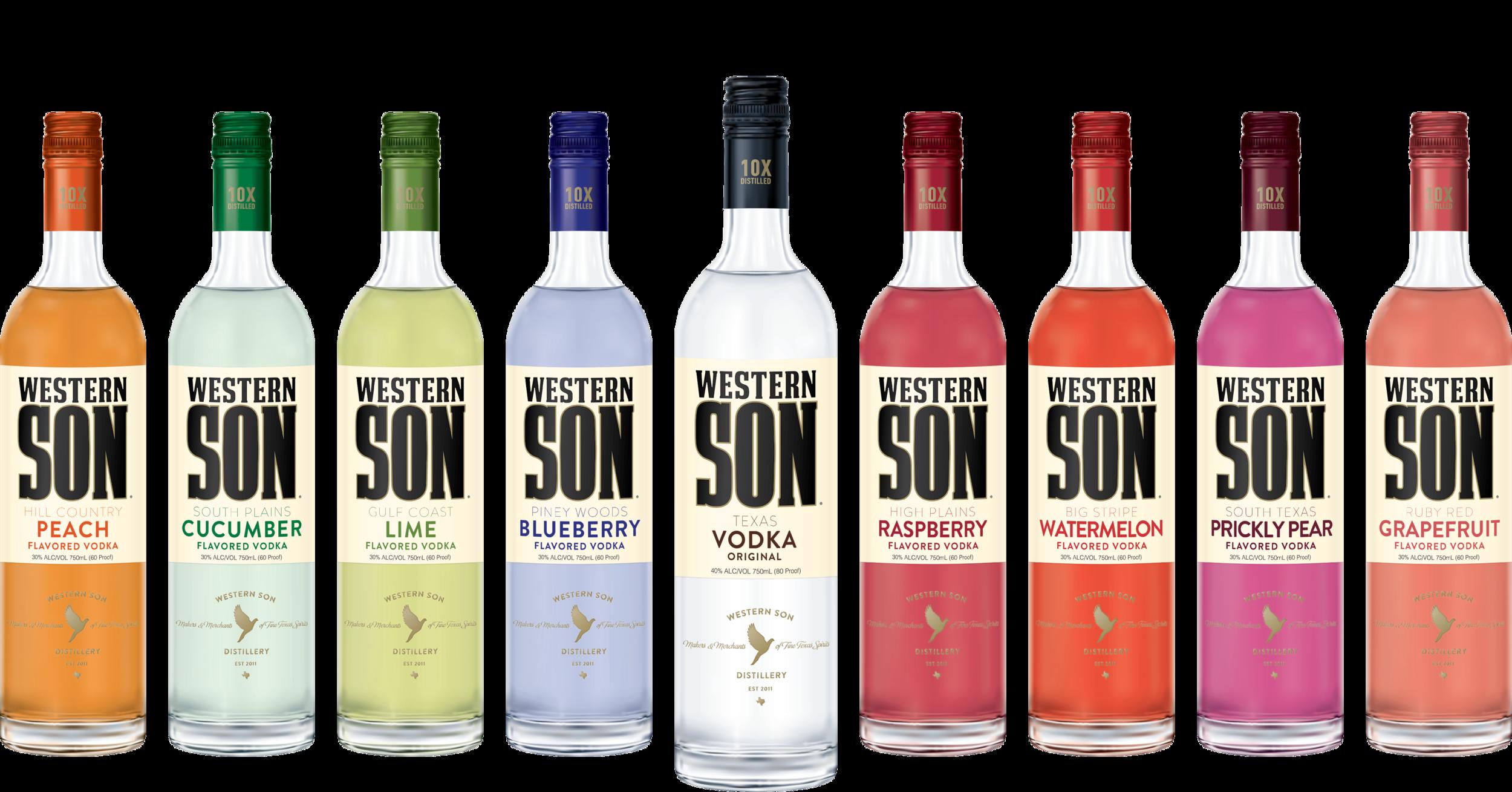 Western Son Award-Winning Craft Vodka