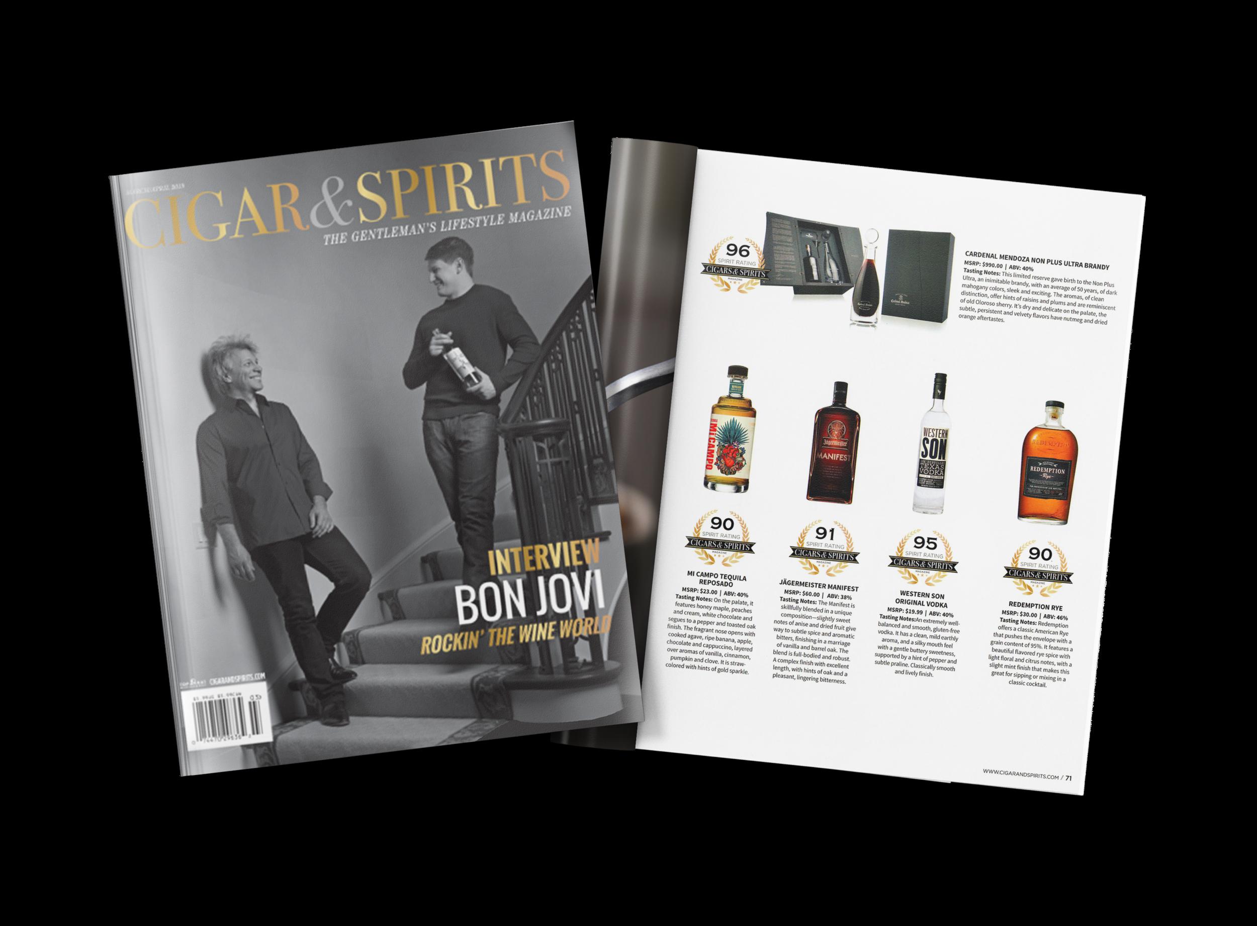 Cigar & Spirits