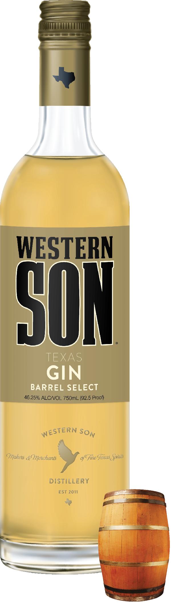 Western Son Barrel Select Gin