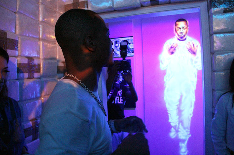 A hybrid art gallery and interactive exhibit, displaying realistic scenes that are symbolic of the sound and lifestyle, that originated in the ATL.radio.com -