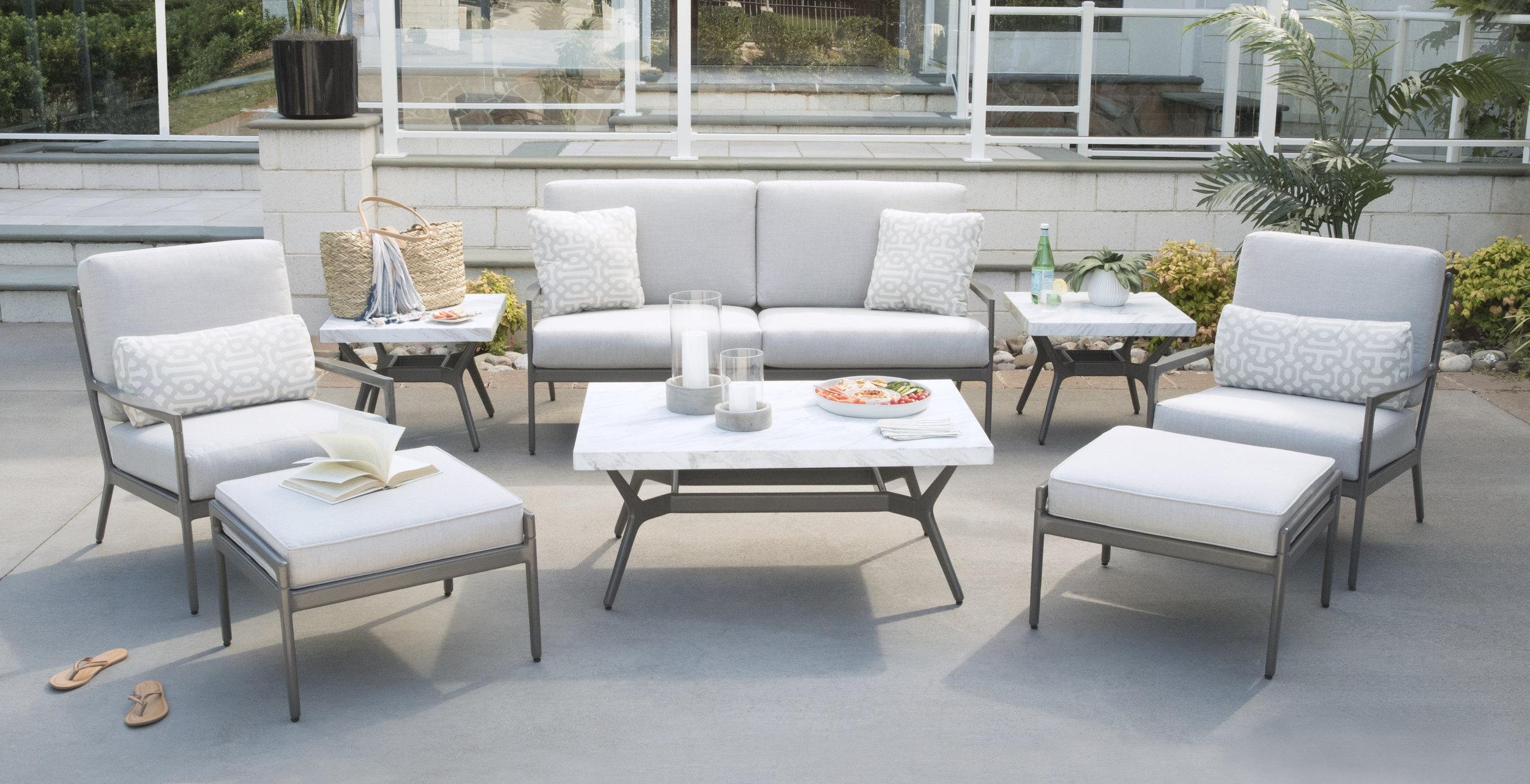 White Modern Deep Seating Patio Collection .jpg