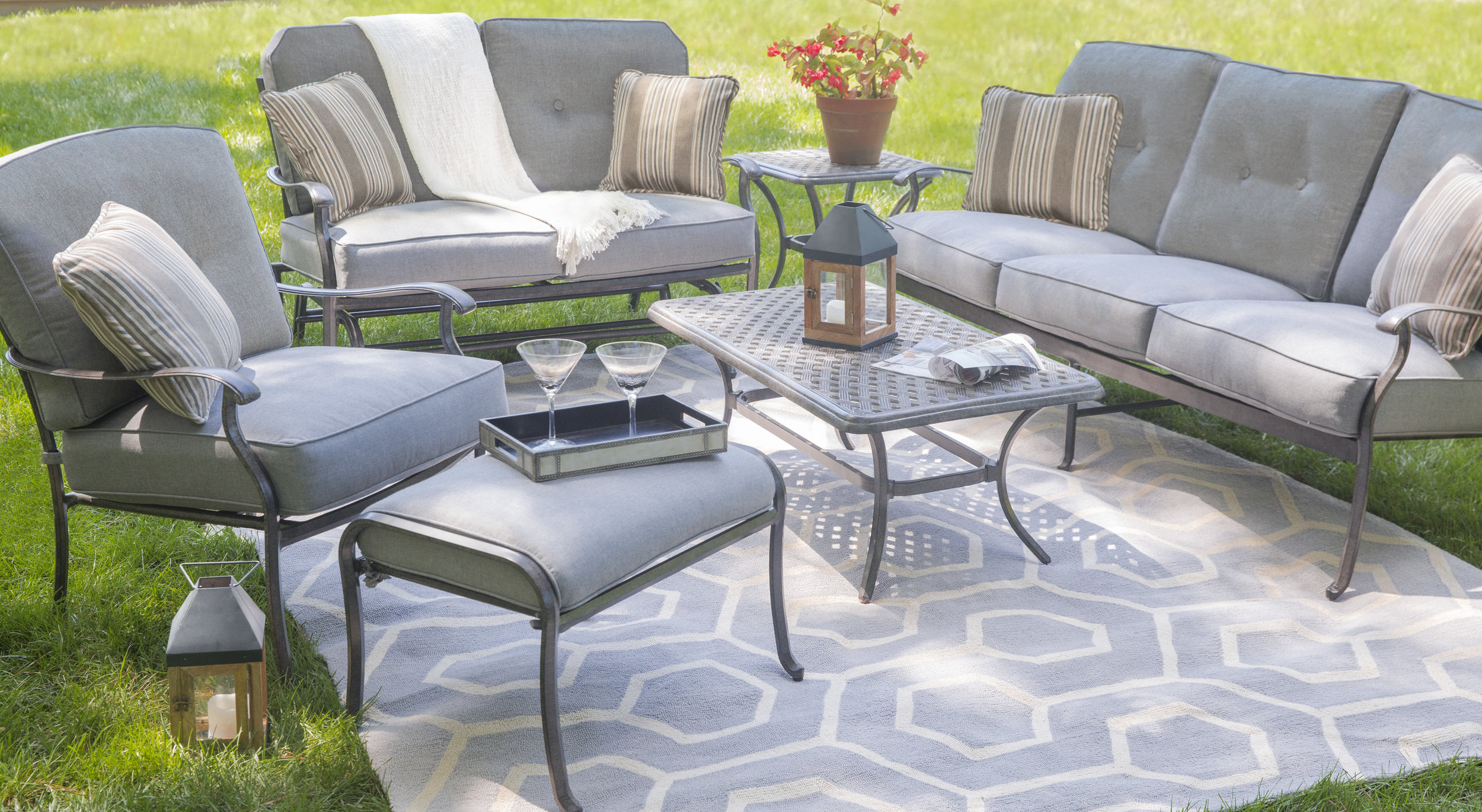 Grey Patio Madison Cushioned Loveseat And Chair .jpg